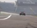 双涡轮增压兰博基尼Gallardo赛道喷火加速
