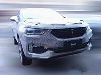 长城新款SUV上市时间 WEY W02路试车实车亮相