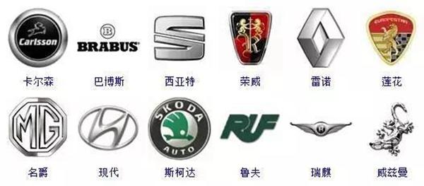 史上最全的汽车车标图片大集合 你能认识几个