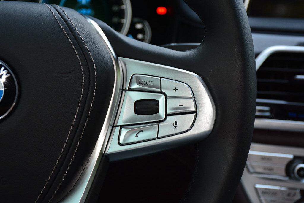 宝马7系 2017款 740Li xDrive 豪华型 中控内饰