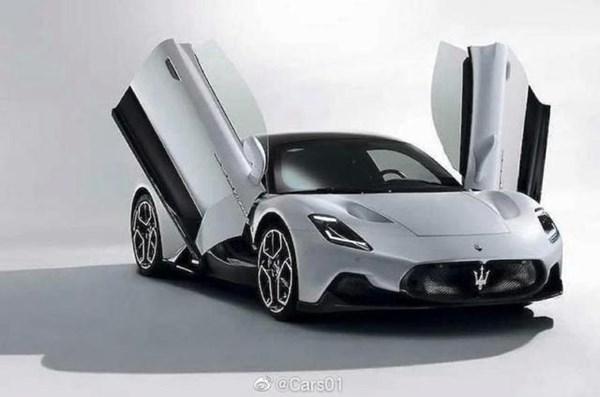 玛莎拉蒂全新旗舰跑车MC20官图发布9月10日全球首发